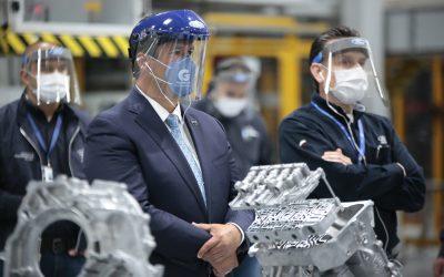 Trabaja industria automotriz a tope en Guanajuato.