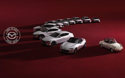 Mazda celebra 15 años de presencia en México.