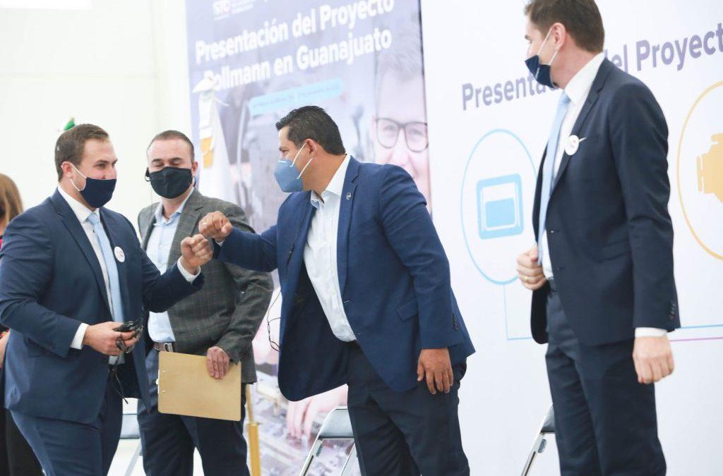 Guanajuato sigue creciendo con la llegada de Pollmann: Gobernador.