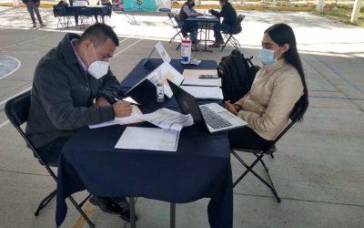 SDES realiza primer reclutamiento en Silao.