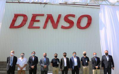 Denso inaugura su 4ª planta en México.
