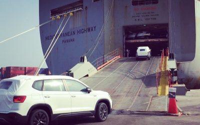 Volkswagen de México inicia exportación del Taos a Estados Unidos.
